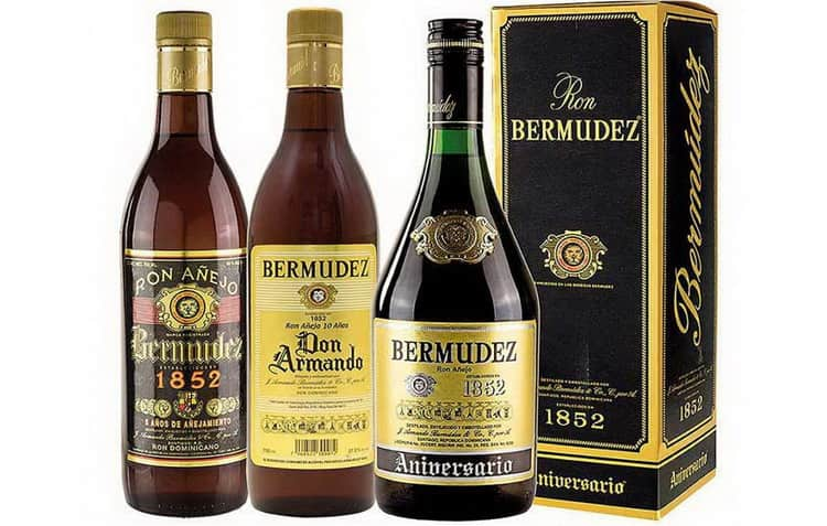 Бермудез – старейший ромовый бренд