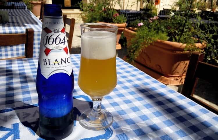 Пиво бланк 1664 фото