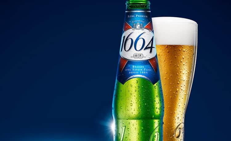 Пиво kronenbourg blanc 1664 не единственное в линейке.