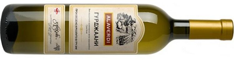 гурджаани это белое вино.