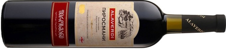 бархатистым вкусом обладает вино Пиросмани.