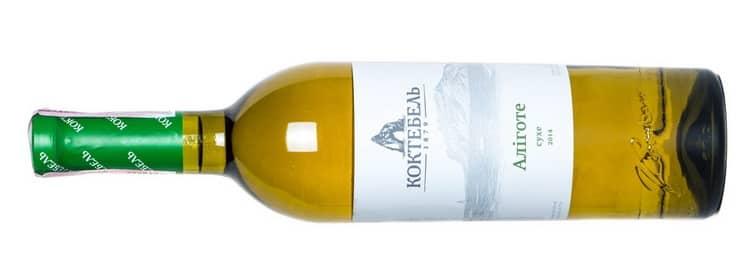Как выбрать белое сухое вино алиготе