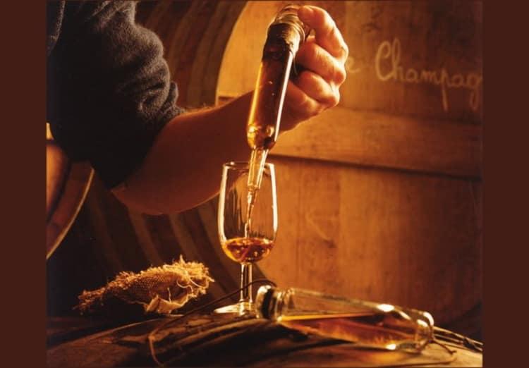 этапы изготовления французского коньяка
