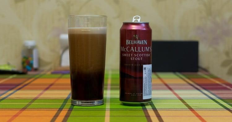 belhaven mccallum's sweet scottish stout это еще один оригинальный продует от именитого производителя.