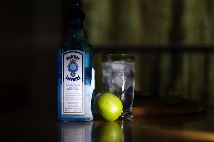 Как подавать джин bombay sapphire
