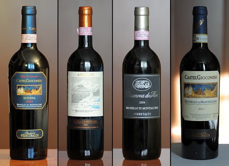Как подавать Брунелло вино
