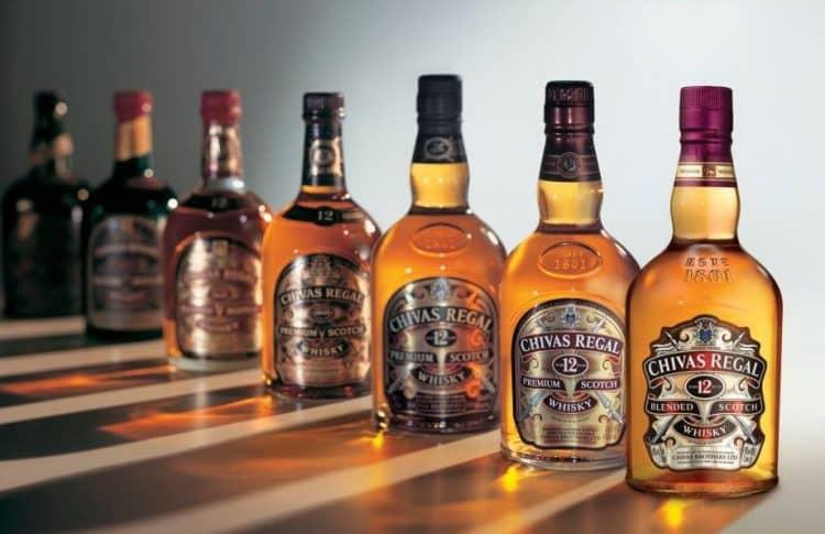Чивас Ригал это элитный островной виски.