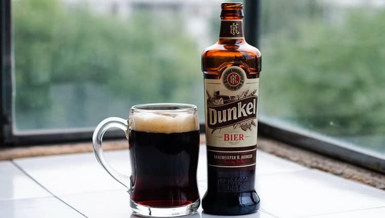 Как подавать Dunkel пиво