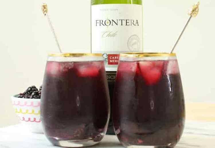Вино Frontera производства Chile используют даже для приготовления коктейлей.