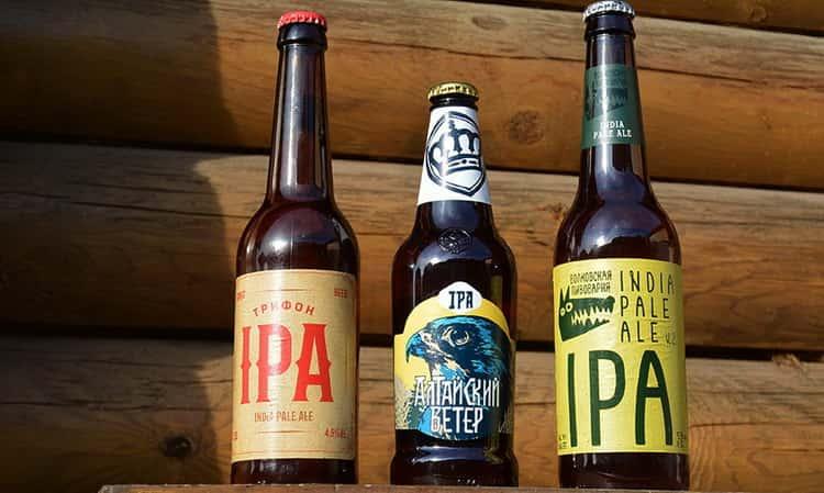 Как подается IPA пиво