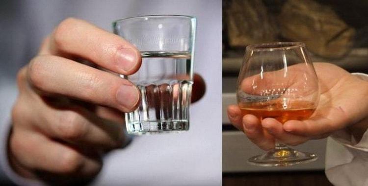 Что вреднее для организма коньяк или водка
