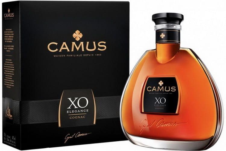 дорогой французский коньяк Camus