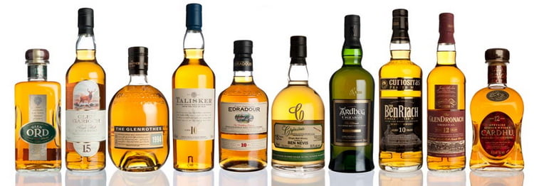 Марки односолодового виски