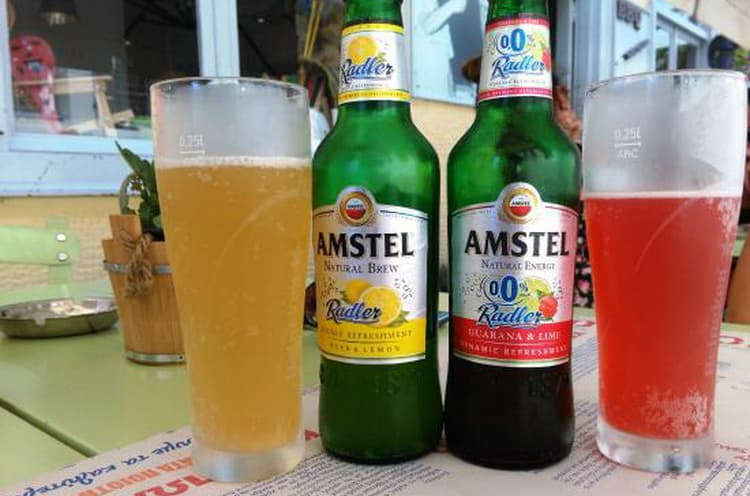 Каке виды пива амстел делает производитель