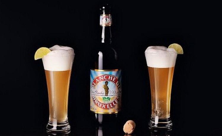 Как подавать пиво blanche de bruxelles