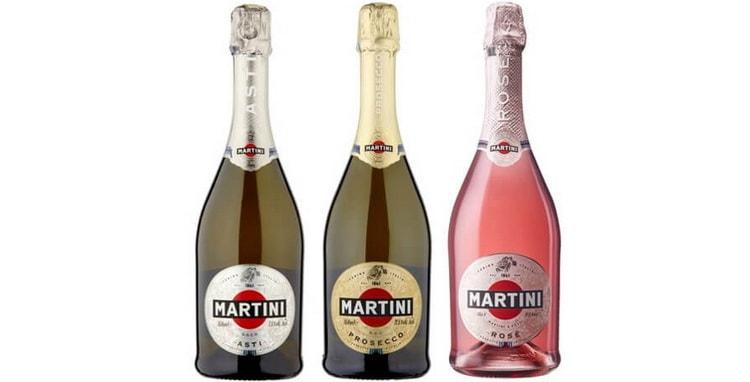 Какие есть виды мартини асти