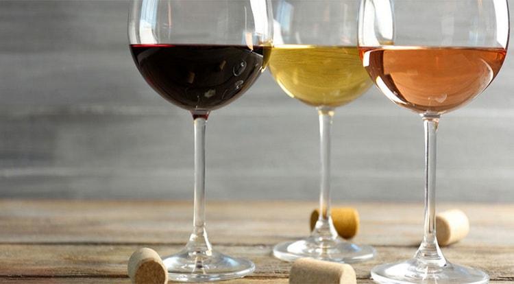 Виды вина Тини