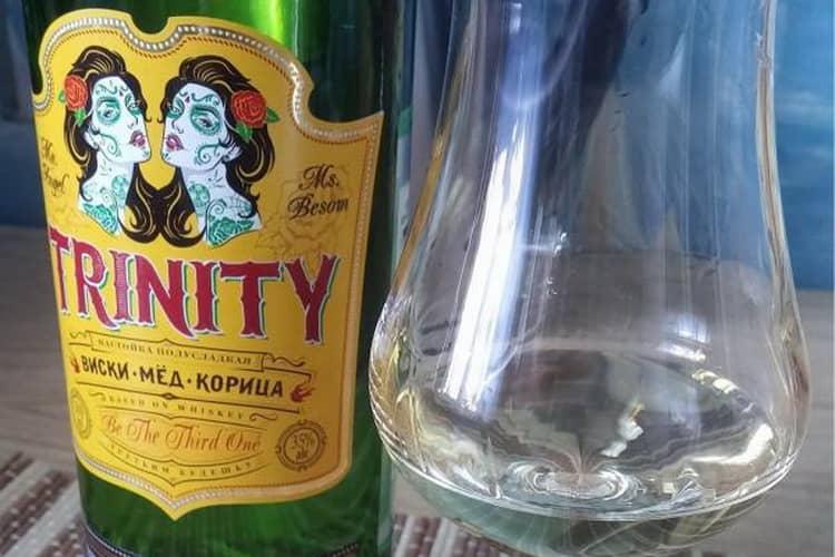 Оригинал виски trinity виски с мед и корицей