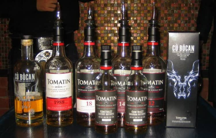 Виды виски Tomatin