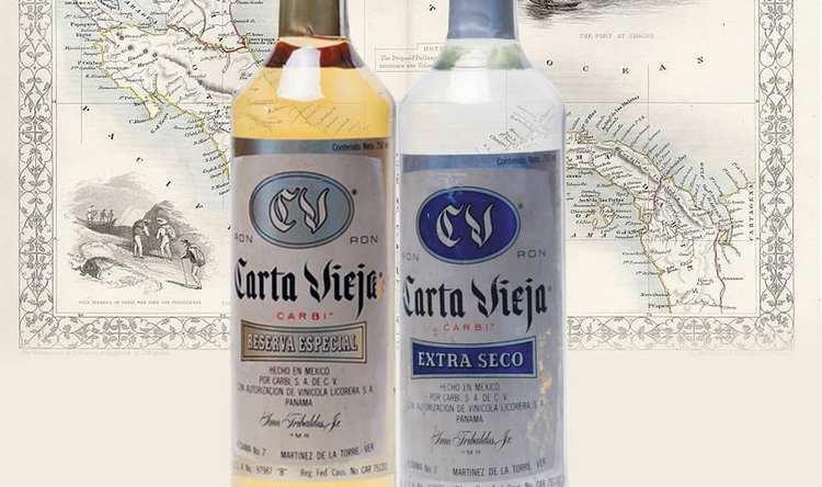 Ром carta Viedja представлен как белым, там и темным напитком.