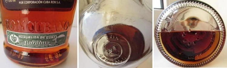 Обратите внимание на то, что на оригинальной бутылке напитка всегда должно быть фирменное тиснение пряно над этикеткой.