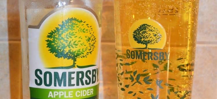 Сидр Somersby это отличный напиток для теплого времени года.