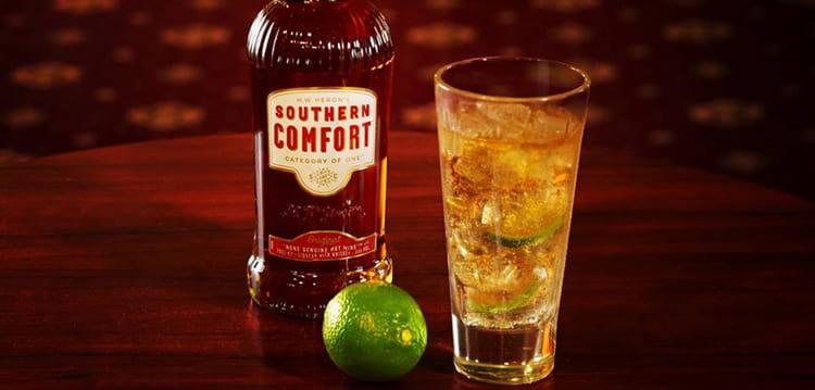 как правильно подавать ликер southern comfort