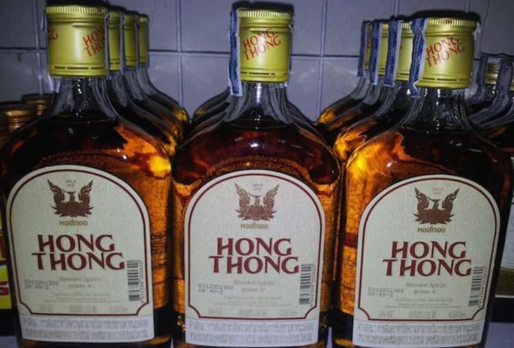 Популярным тайским производителем является и ром hong thong.