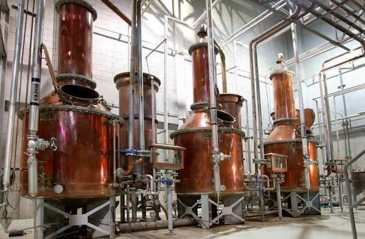 так происходит производство напитка.