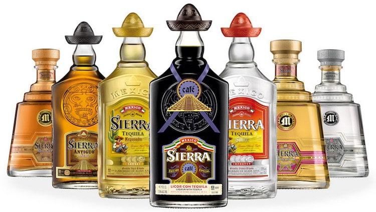 Текила Сиерра это один из самых ярких представителей этого напитка родом из Мексики.