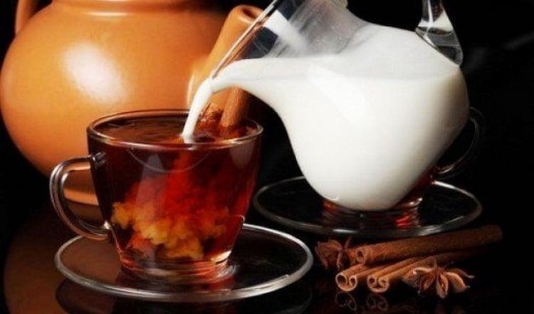 как делать чай с коньяком и молоком