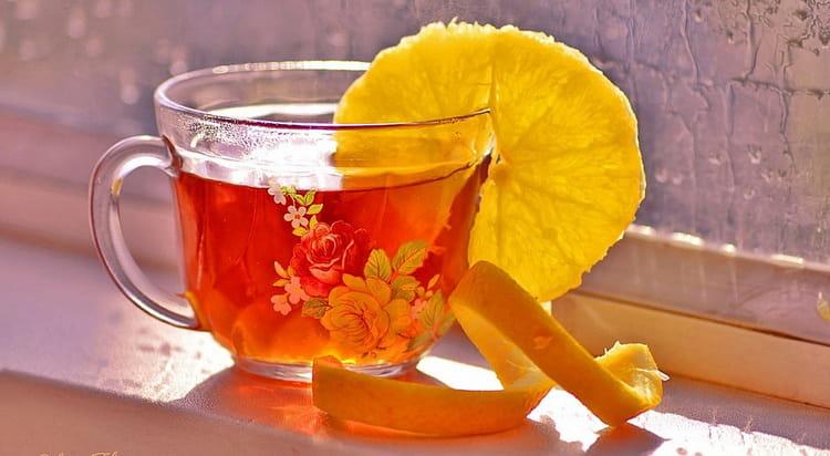 можно ли пить чай с коньяком и апельсином