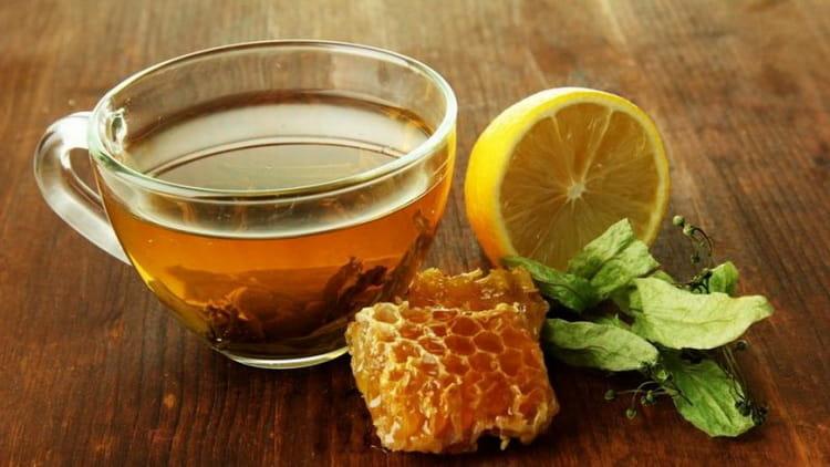 чай с коньяком и медом от простуды