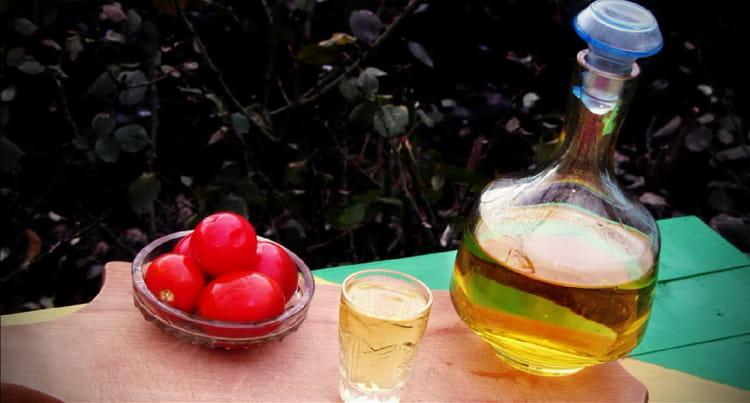анисовая настойка на основе водки