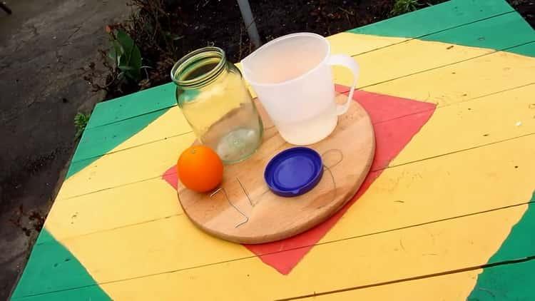 Как готовится апельсиновая водка в домашних условиях