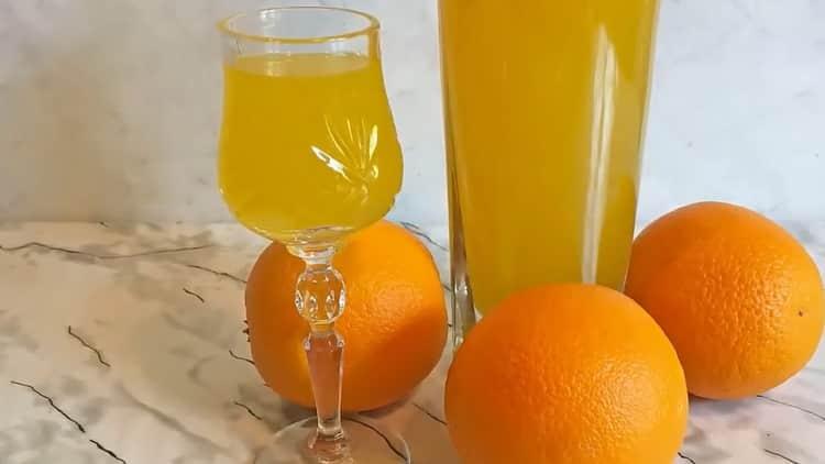 Все о том как приготовить апельсиновый ликер в домашних условиях