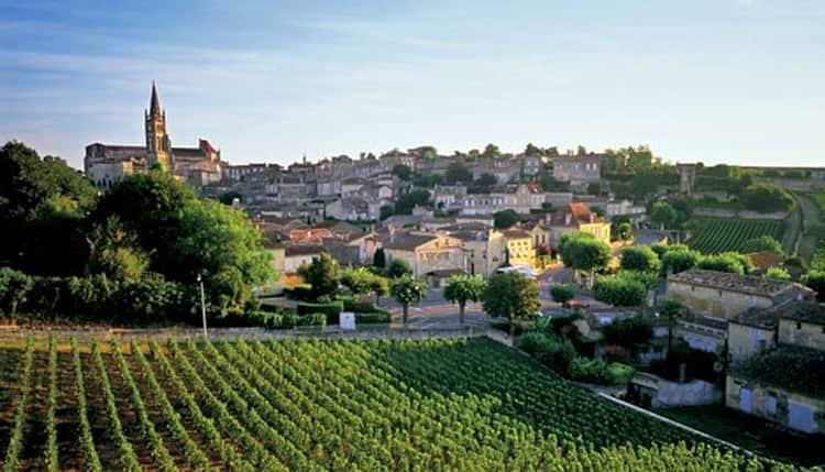 Бордо винодельческий регион