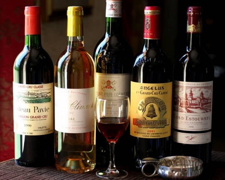 Как подавать бордо вино