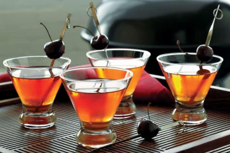 коктейли из армянского коньяка