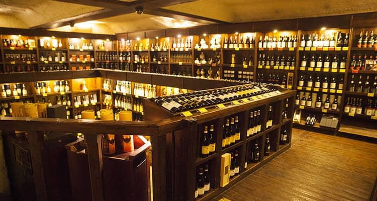Место продаж настоящих виски