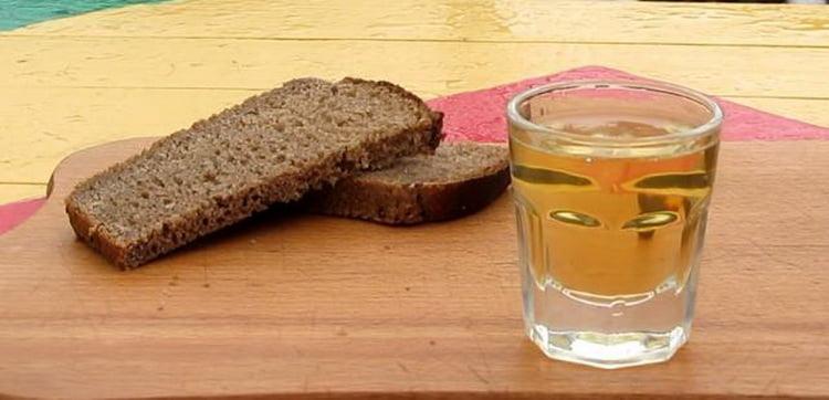 бородинская настойка на хлебе
