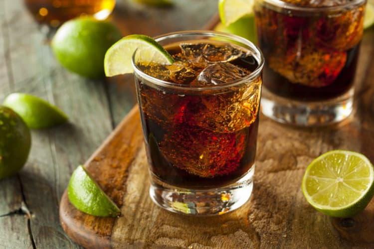 Коктейли из рома legendario elixir de cuba