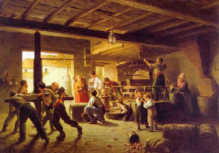 История происхождения вишневого сидра