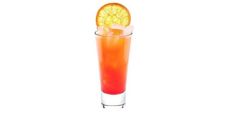 Как приготовить классический коктейль tequila sunrise
