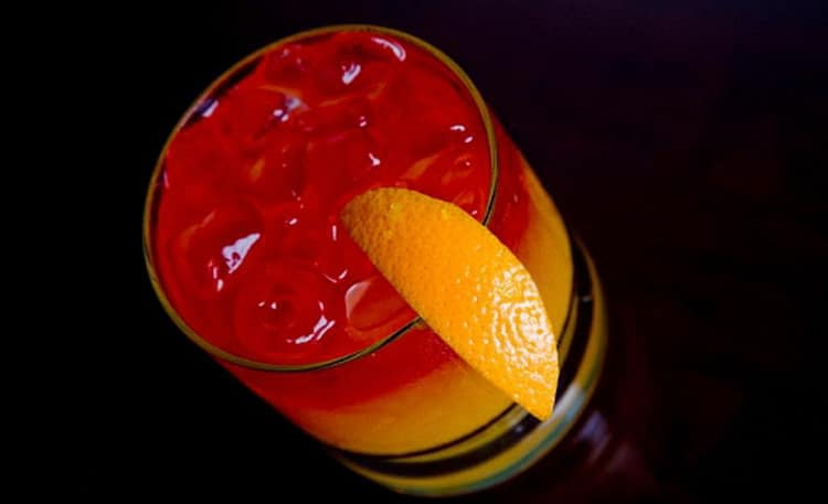 состав коктейля текила санрайз