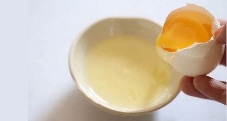 Очистка чачи яичным белком