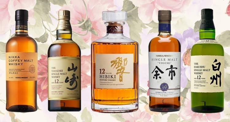 Как подают японский виски