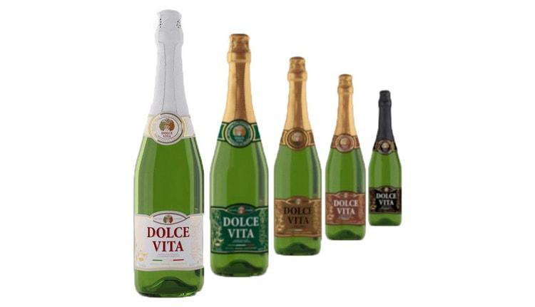 Виды шампанского дольче вита