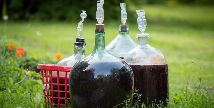 Как подсластить вино после брожения