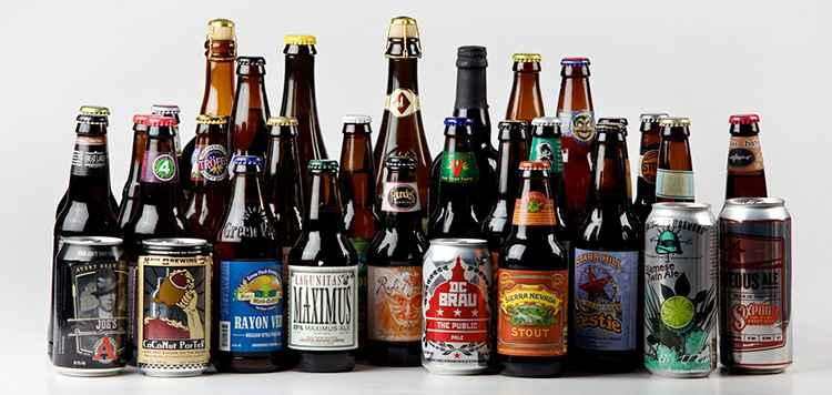 Виды американского пива